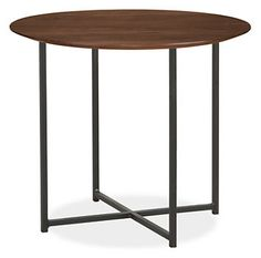 Classic End Tables In Natural Steel