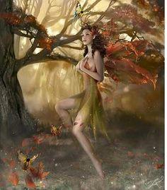 Autumn Fairy | Dziennik Alicji W Krainie Czarow Wrzesien 2008 - Alicja Adamska