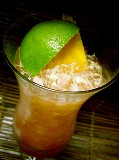The good kind of #hurricane - recipe (and history of) one of the world's best tropical cocktails