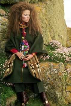 Bohemian editorial with Penelope Tree