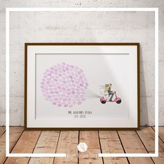 Check out this item in my Etsy shop https://www.etsy.com/uk/listing/558875527/wedding-guest-book-thumbprint-guestbook