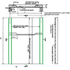 Understanding One Way Slab ,structural action of one way slab Concrete Slab, Concrete Design, Civil Engineering Design, Swimming Pool Construction, Civil Construction, Structural Analysis, Concrete Structure, Reinforced Concrete, Floor Plans