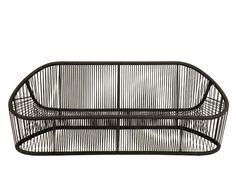 Sofá en acero y PVC para jardín CLUB 1009 Colección Club by Zanotta | diseño Prospero Rasulo