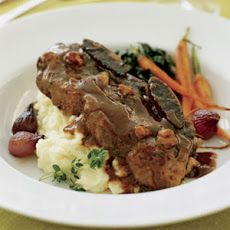 Braised Short Ribs With Porcini-Port Wine Sauce | Recipe | Short Ribs ...