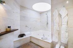 Esta es el baño de la Suite Presidencial