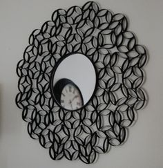 Gorgeous Mirrors made from old Toilet Paper Rolls