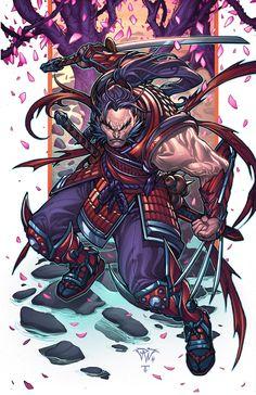 Samurai Wolverine by Paolo Pantalena & Juan Fernandez