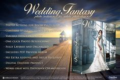Actions for Photoshop / Wedding by Miracle_Design on @creativemarket