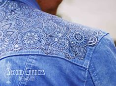 """Second Chances by Susan: The """"Tattooed"""" Denim Jacket"""