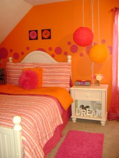 Orange And Pink Dreams