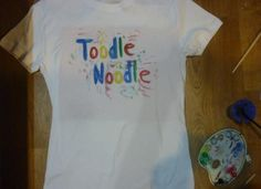 """#tshirt #google   4 daddy:)   """"Toodle Noodle"""" [in Czech tůdle nůdle]  means sth like """"bad luck:P"""" or """"u wish:P"""""""