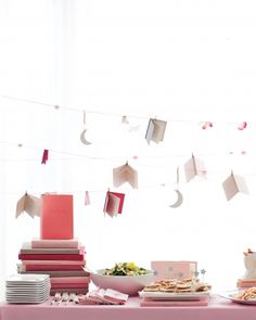 A Book-Themed Baby Shower- not a bad idea, Martha Stewart! plus, baby books are always good gift ideas (instead of 8 million stuffed animals)