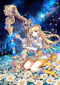 Anime Girl_Blonde Hair