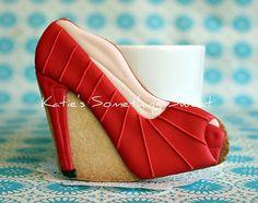Christian Louboutin Shoe Cookies
