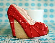 Christian Louboutin Shoe Cookies