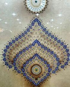 """167 Beğenme, 7 Yorum - Instagram'da İslam & Sanat (@islamsanat): """"Tezhib: Zehra Artuç 18. Devlet Türk Süsleme Sanatları Yarışmasında ödül aldığı eseridir. Fotoğraf…"""""""