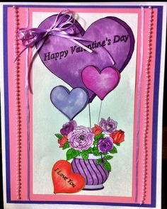 My wife designed and made this card just for my beautiful daughter! Check out her work at anjisantics.blogspot.com