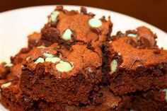 We heart Peppermint Brownies (after the holidays try these with our YORK Peppermint Pattie creamer)