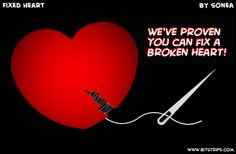 Fix a broken heart on Lisa Loves Life Lessons