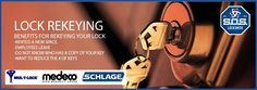 SOS Locksmith offers lock re-keying services in NYC for all residential buildings or homes.