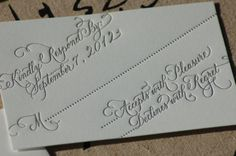 love this style of RSVP