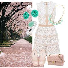 Springtime fresh splash! by raimbow-colors on Polyvore featuring moda, BCBGMAXAZRIA, Miu Miu, Chanel and Bling Jewelry