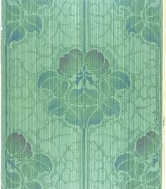 British wallpaper, 1905 - I can see this being a stencil - modified a little bit.