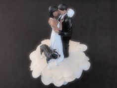 Cake Topper Wedding Bride and Groom African American Ivory Dog American Bulldog by ArtisanFeltStudio on Etsy Dog Wedding, Wedding Bride, Wedding Reception, Wedding Cake Toppers, Wedding Cakes, Gone With The Wind, Big Day, Groom, African