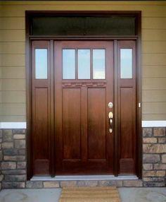 Craftsman Style Front Door | Craftsman style front doors ...