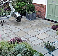 granite setts added to patio - Google Search