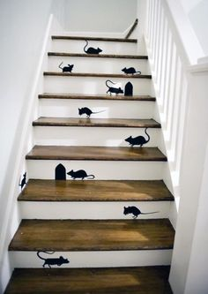 25 Brilliant Ways to Decorate Your Stairs | Brit + Co