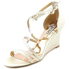 Badgley Mischka Women's Carnation Wedge Sandal > See this awesome image  : Strappy sandals