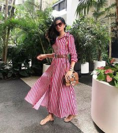 Moda Outfits, Chic Outfits, Dress Outfits, Stylish Dresses, Casual Dresses, Summer Dresses, Modesty Fashion, Fashion Dresses, Ikkat Dresses