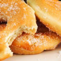 Better Than The Bakery's Glazed Sugar-Coated Doughnut