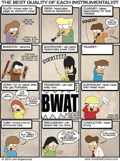 Tone Deaf » Tone Deaf Comics » my two oldest would laugh but my youngest boy would be upset like the picture about the trumpet.ha ha! I guess the comic is true !!