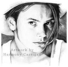 By Harmony Carrigan Phoenix Art, River Phoenix, Pencil, Sketch, Portraits, Quotes, Shirts, River Phoneix, Sketch Drawing