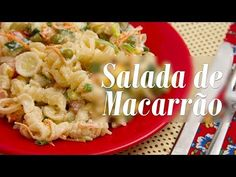 Como fazer Salada de Macarrão Vegana - YouTube