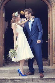 50's style wedding dress with petticoat - 2013 www.lauramdavey.co.uk