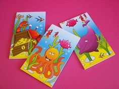 Sealife Note Pad #allaboutpartybags #kids #sealife #notepad