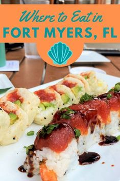 Looking for where to eat in Southwest Florida? Check out this guide for the best Fort Myers restaurants. It includes downtown, beachside & more! #fortmyers #floridatravel #floridafood Florida Food, West Florida, Florida Vacation, Florida Travel, Fort Myers Restaurants, Unique Restaurants, Bonita Beach, Florida Adventures, Delicious Restaurant
