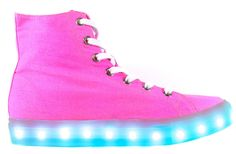 Light up LED shoes with tons of color settings by NeonNancy