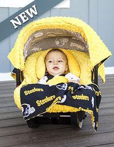 Pittsburgh Penguins Newborn Game Nap Teddy Fleece Bunting Pram