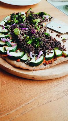Plantain-Cassava Pizza
