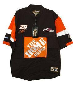 Home Depot Vintage Trackside Pit Shirt Stewart 20 Med Nascar Product by  Motorsport Authentics.  24.99 64730d05977c