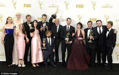 Squad goals! The hit HBO series also broke the record for most Emmy wins in one year thanks to 12 gongs