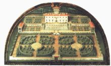 The Medici Villa Petraia, near Florence, laid out by Niccolò Tribolo, epitomizes the Italian garden of the early Renaissance, before the grander architectural schemes of the 16th century