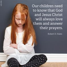 How to help your children apply gospel principles in their lives.