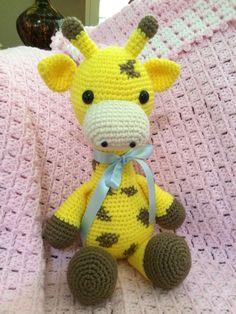 Handmade amigurumi Stanly the giraffe.....