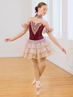 My dance studio had this costume for one of the ballet dances Dance Recital Costumes, Cute Dance Costumes, Theatre Costumes, Ballet Costumes, Girl Costumes, Ballerina Costume, Cosplay Costumes, Margot Fonteyn, Dance Outfits