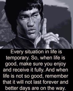 Some Words by Bruce Lee Wise Quotes, Quotable Quotes, Words Quotes, Quotes To Live By, Happy Quotes, Fitness Workouts, Fitness Motivation, Quotes Motivation, Positive Motivation